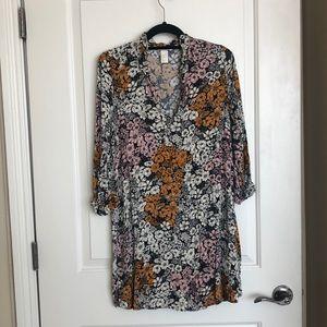 H&M Long sleeve mini dress
